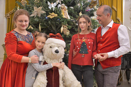 """Noblesse Palace Christmas Fair, 8 decembrie- """"Santa Claus is coming…to Palace"""""""