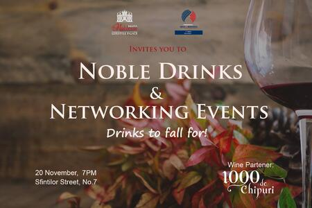 Noble Drinks & Networking #12, noiembrie, 2018